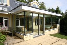 Project: Oddicombe Cottage / Traditional style conservatory using contemporary minimal framed structural glazing