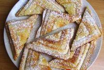 Pochoutky z toustového chleba