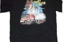 T-shirt / Några av alla t-shirt som vi har i butiken