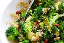 Food - salads and bowls / Salads, dressings, bowls, veggies
