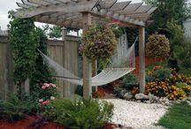 Pergola patio paradise