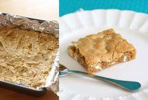Food/Brownies /Bars / Bar cookies / by Paula Mcguire