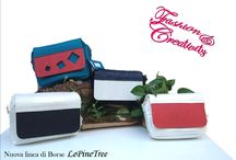 LePineTree / Bags handmade in leatherette and wood