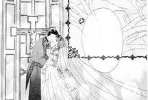 Mamoru and Usagi Manga <<The wedding>>