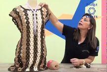 rochie 3 culori crochet