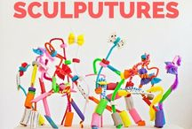 Art teaching: sculpture