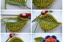 crochet aplications