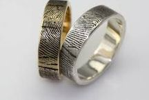 Wedding Ideas: Wedding Rings / A wedding ring signifies the union of two lives and of course the joining of two families. Here you'll find some of our favourite wedding bands that you'll treasure forever.
