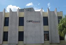 About Care Resource / Rooted in the 1998 merger of Health Crisis Network (1983) and Community Research Initiative (1989), Care Resource is now South Florida's oldest and largest HIV/AIDS service organization and a true leader in the community. We have also become since 2009 a Federally Qualified Health Center with offices in Fort Lauderdale, Miami-Dade and Miami-Beach, offering general primary care services to the whole South Florida community.