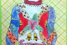 Grade 6 Christmas Art