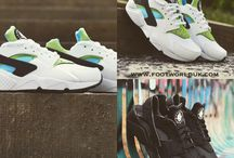Huarache's / A small selection of the huaraches we have in stock.
