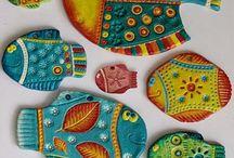 Ryby keramika.
