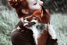 humans with canines and vulpines