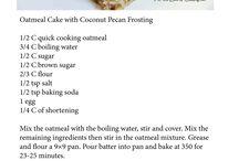 Recipes - Cakes