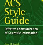 ACS Style / Tips on how to write in American Chemical Society (ACS) style