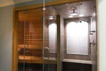 sauna en doche