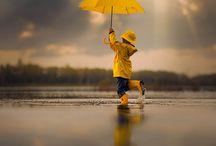 Umbrella - Esernyős, Esős képek