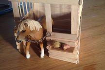 Schleich kone / horses