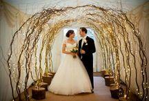 willow wedding decor / Weddings decor
