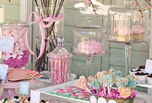 Sweets Table / Inspiration for the Sweets Table for Weddings