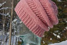 štrikované a hačkované čiapky