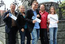 Webwerk & Google Glass / #Webwerk testet als einziger #GooglePartnern Kärntens #GoogleGlass in #Klagenfurt