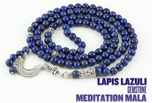 Meditation Mala Beads / As Prayer Bead Store, we are providing highest quality 108 beads malas that are produced diligently from genuine semi precious stones such as amethyst, agate (carnelian), lapis, tiger's eye, onyx...