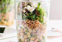 Salade (vegan ou à vegetalisé