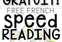 French reading activities