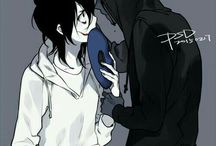 CREEPYPASTA Jeff x Eyeless Jack
