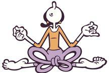 Olive Oyl Yoga / Olive Oyl loves yoga.