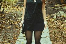 Isidora / #black #outfits #heels #fall #fashion