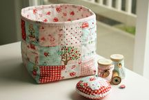 Fabric Bag and Basket