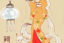 Kitsune DnD reference