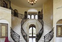 Up and Down the Staircase / A peek at staircases... from the elaborate to the rustic and modern...