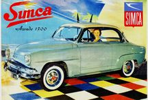 SIMCA my father's car
