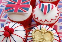 BRITISH THEMED CAKE INSPO