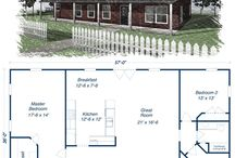New metal house plans
