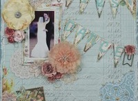 wedding scrapbook ideas / Layout for weddings