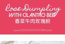 Hello, my Dumplings / Who doesn't love dumplings? Any and all kinds of dumplings.
