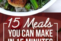 Quick & Easy Meals / Meals you can make in less than 30 minutes.