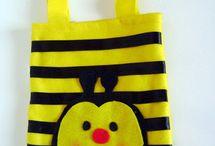 Abelhinhas / Tema abelhinhas para decoração e atividades na Educação Infantil.