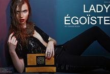 LADY EGOISTE / EDITORIAL LADY ÉGOÏSTE published on Tantalum Magazine Photographer: Dennis Klein Fashion Editor: Mayte Luengo Beauty: Cristina Bonet Nails: Panambi Martinez Model:Daphne Kooy, Models Division