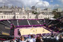 The BOX Seat at the London 2012 Olympics / The Box Seat 901 & 908 models at Horse Guard's Parade Beach Volley Ball Event for the London 2012 Olympics.
