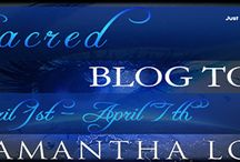 Blog Tours / Custom made banners for open blog tours, current tours and past tour.