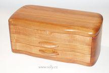 Šperkovnice a dřevěné krabičky české výroby / Luxusní masivní dřevěné ručně vyráběné šperkovnice a krabičky ze dřeva, dekorace a ozdoba každého domova.