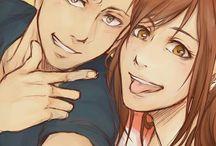 Conny Springer & Sasha Braus / Shingeki no Kyojin Two crazy guys XDD