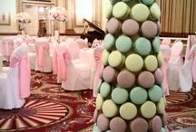 Macaron Wedding Themes / Colour ideas for macaron towers, cakes and favours