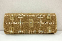 Suette clutch by diniira / Handmade clutch