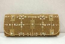 Suette clutch by diniira / Handmade clutch